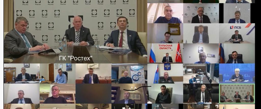 Молодежную политику обсудили члены Бюро СоюзМаш России и Лиги содействия оборонным предприятиям